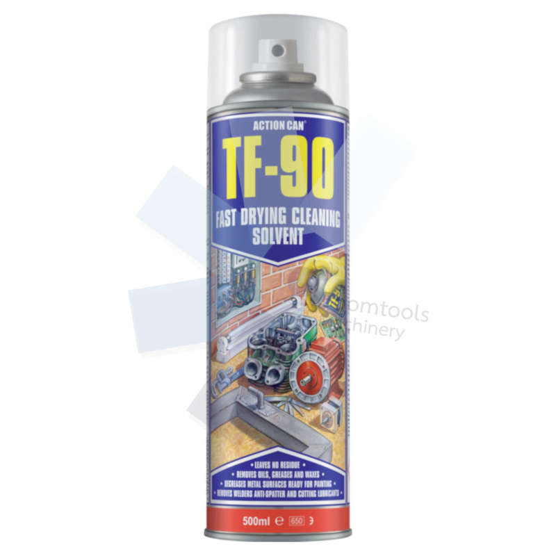 Action Can.TF-90 Fast Drying Aerosol Cleaning Solvent - 500ml