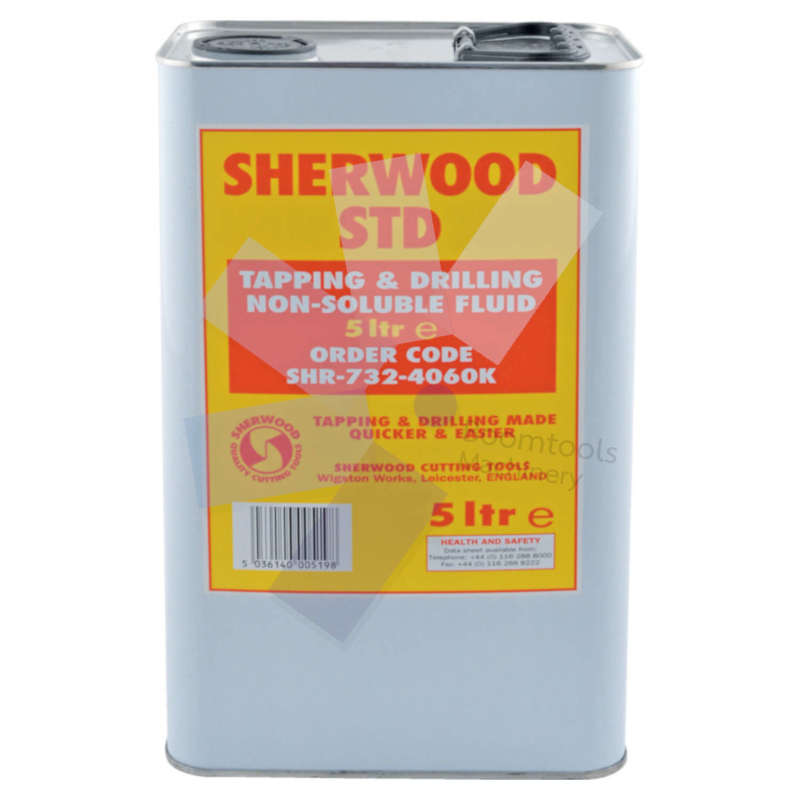 Sherwood.STD Tapping  Drilling Non-Soluble Fluid 5ltr