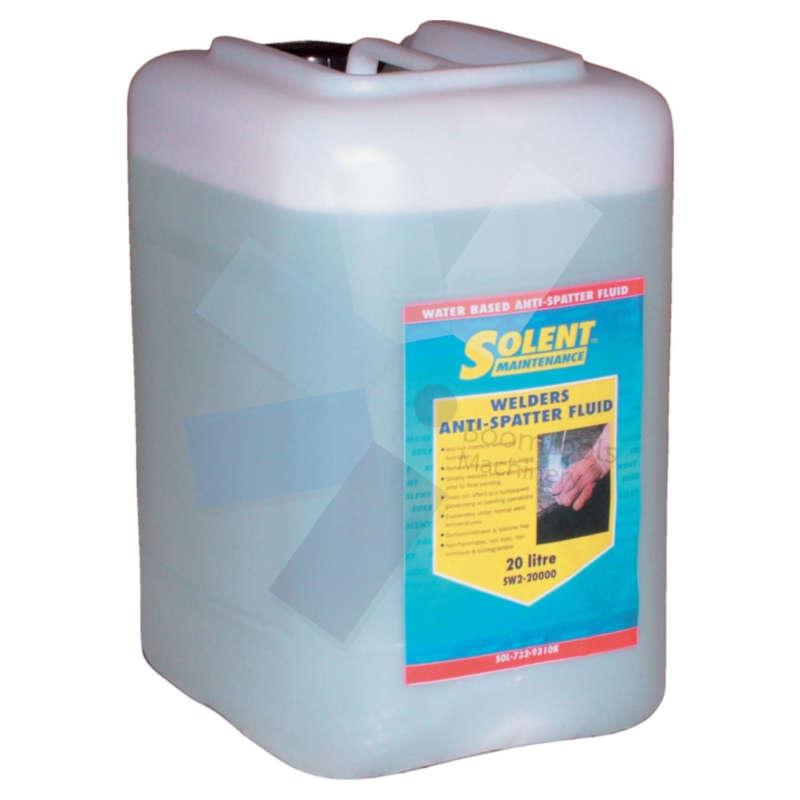 Solent Maintenance.SW2-20000 Welders Anti-Spatter Fluid - 20ltr