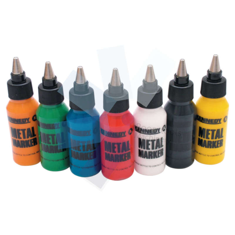 Kennedy.White Ball Point Paint Marker 46ml