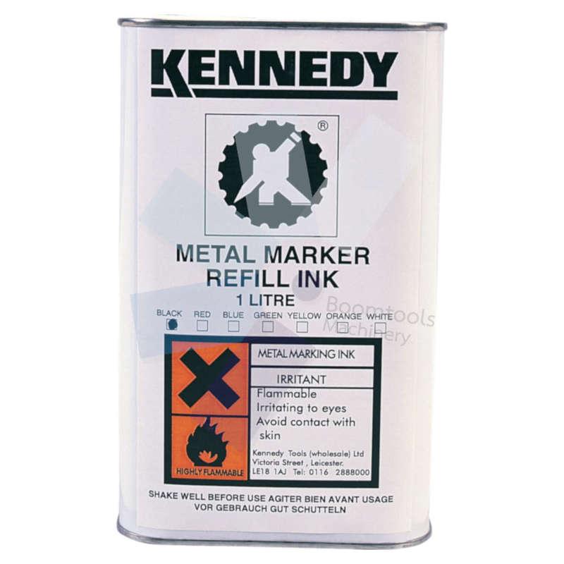 Kennedy.Yellow 1ltr Metal Marking Ink