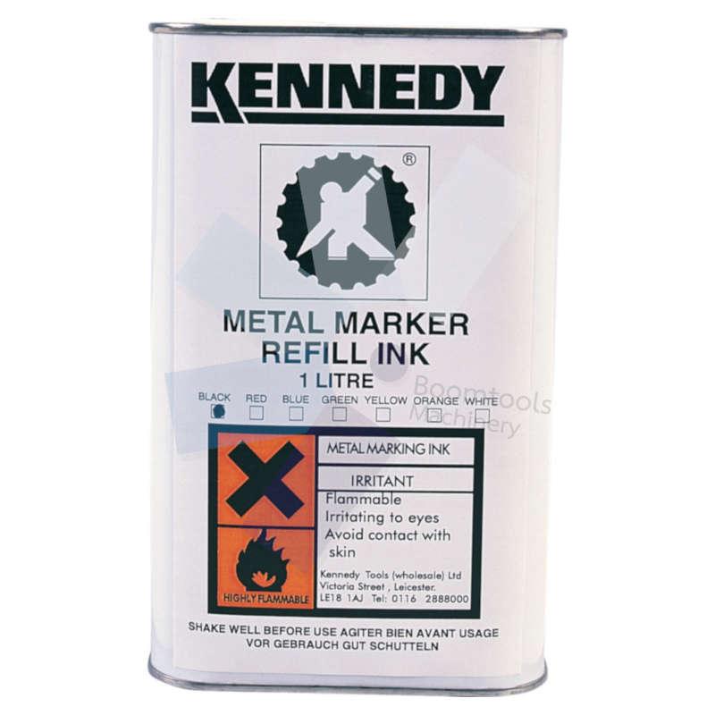 Kennedy.White 1ltr Metal Marking Ink