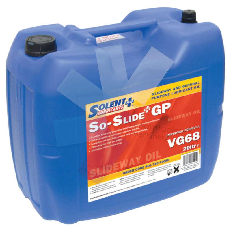 Solent Lubricants Plus.20ltr VG68 So-Slide Plus GP Slideway Oil