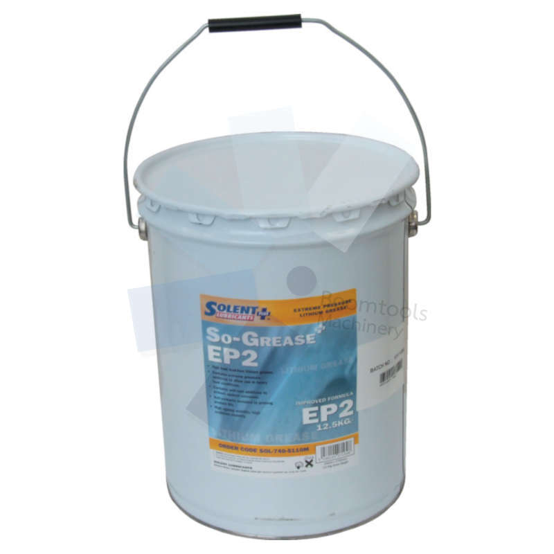Solent Lubricants Plus.So-Grease EP2 Lithium High Load Grease 12.5kg