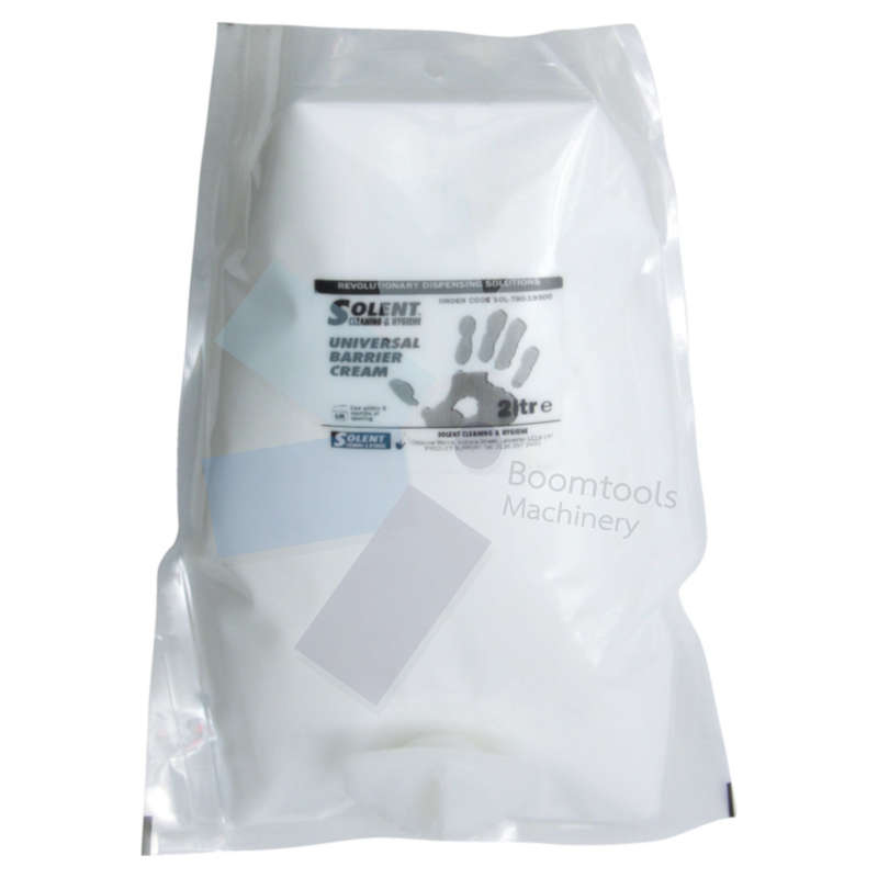 Solent Cleaning.Universal Barrier Cream 2ltr Pouch