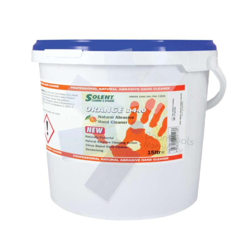 Solent Cleaning.Solent Orange Citrus Beaded Hand Cleaner 15ltr