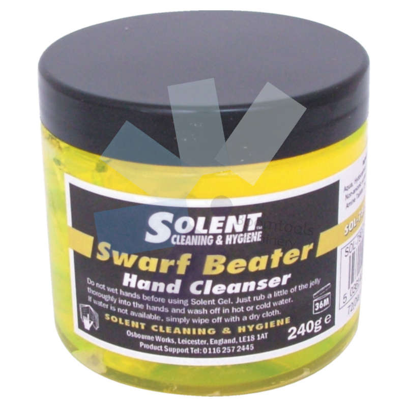 Solent Cleaning.Swarf Beater Hand Cleanser 240g Tub