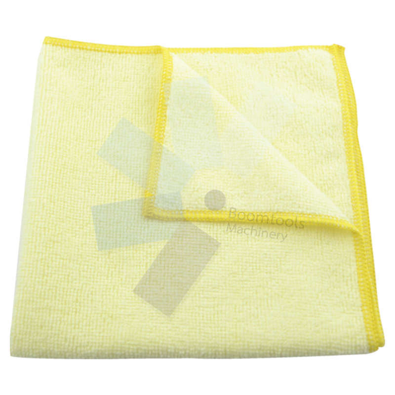 Cotswold.40x40cm Premium Yellow Microfibre Cloth 56G - Pack of 5