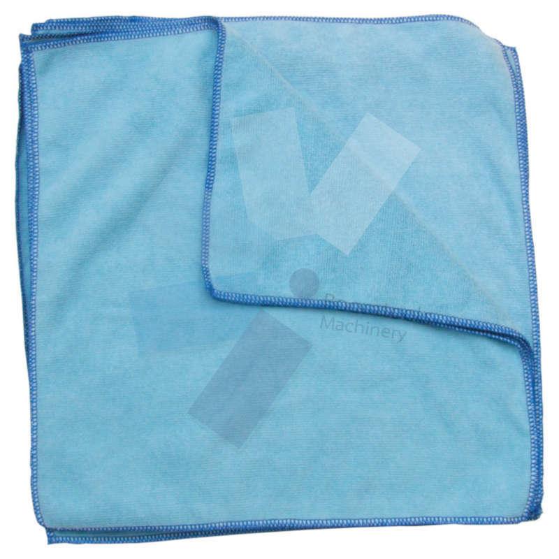 Cotswold.40x40cm Premium Blue Microfibre Cloth 56G - Pack of 10