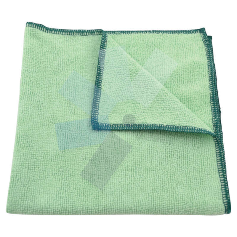 Cotswold.40x40cm Economy Green Microfibre Cloth 36g - Pack of 10