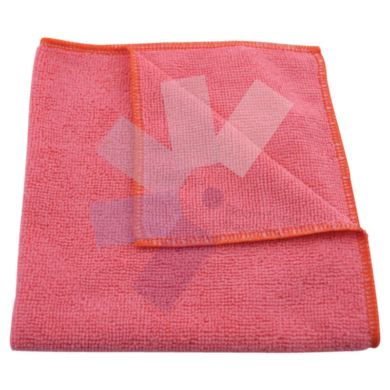 Cotswold.40x40cm Economy Pink Microfibre Cloth 36g - Pack of 10
