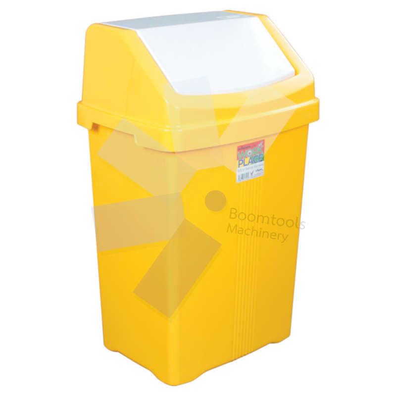 Offis.Yellow Swing Bin - 50 Litre