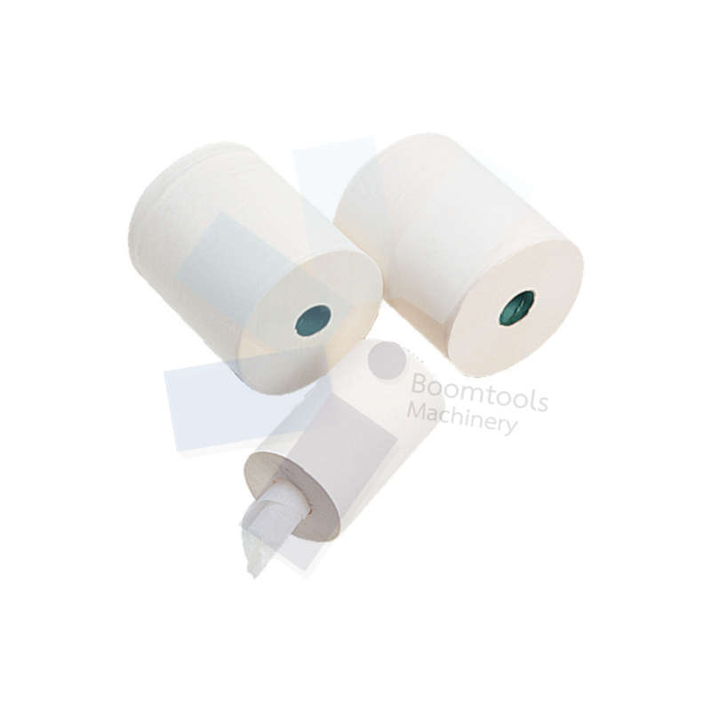 Solent Cleaning.C2W159FCR WHITE C/FEED 2PLY WIPES 19cmx150M (PK-6)