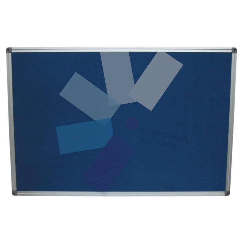 Offis.FELT NOTICE BOARD 1200x900mm BLUE ALUMINIUM TRIM