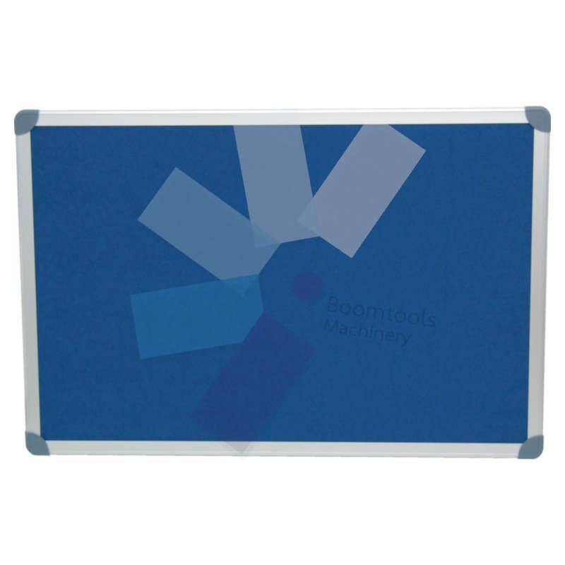 Offis.EXECUTIVE FELT NOTICE BOARD 1200x900m BLUE/AL TRIM