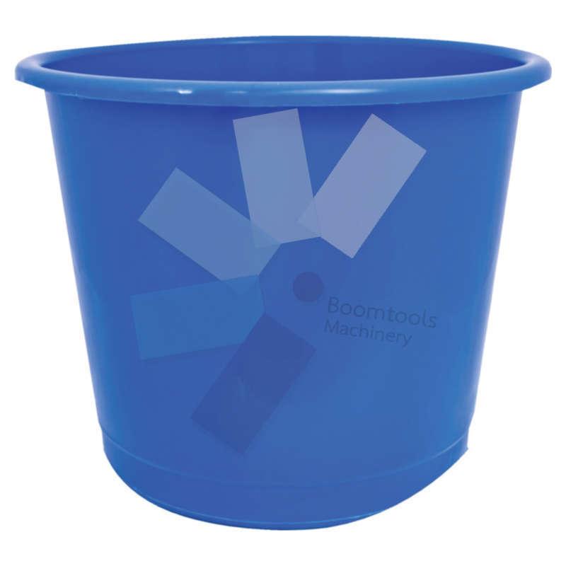Offis.Plastic Blue Waste Bin - 14 Litre