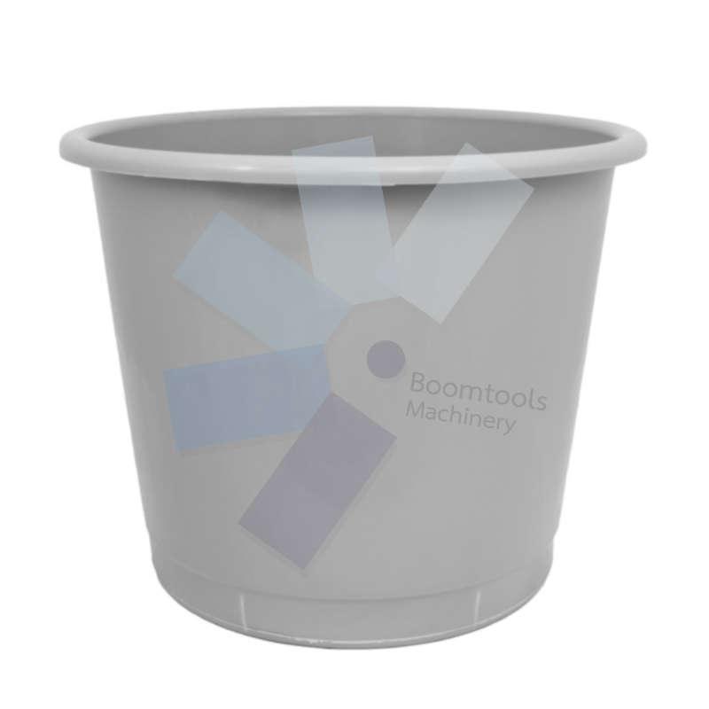 Offis.Plastic Grey Waste Bin - 14 Litre