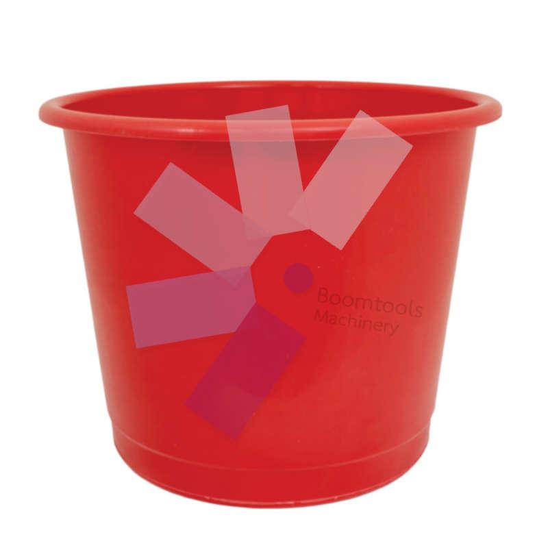 Offis.Plastic Red Waste Bin - 14 Litre