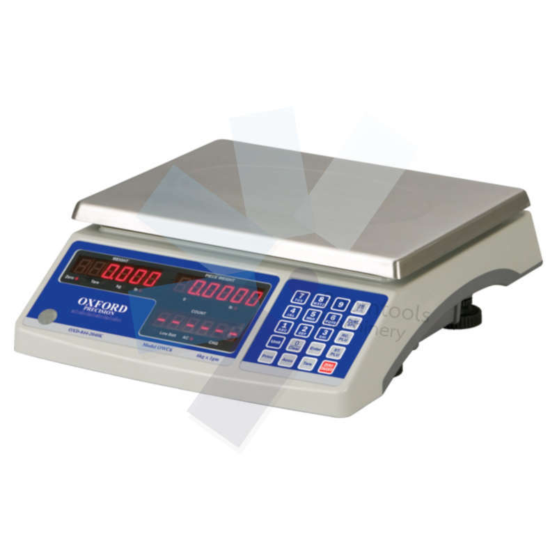Oxford.ELECTRONIC WEIGH  COUNT SCALES 6KGx1gm