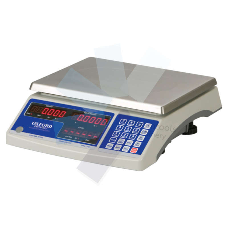 Oxford.ELECTRONIC WEIGH  COUNT SCALES 15KGx2gm