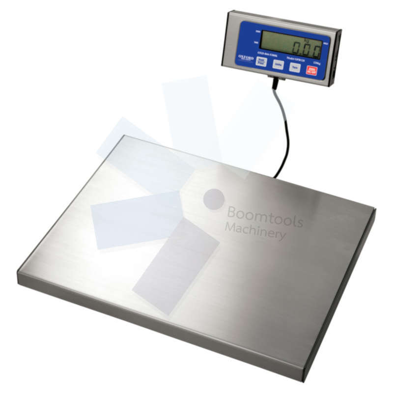 Oxford.PORTABLE BENCH SCALES 120 KG