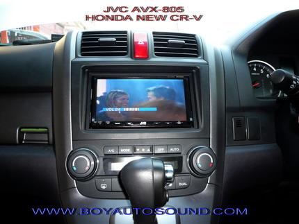 HONDA NEW CR-V ติดตั้ง JVC AVX-800 พร้อมระบบ 5.1 ลำโพงเซ็นเตอร์