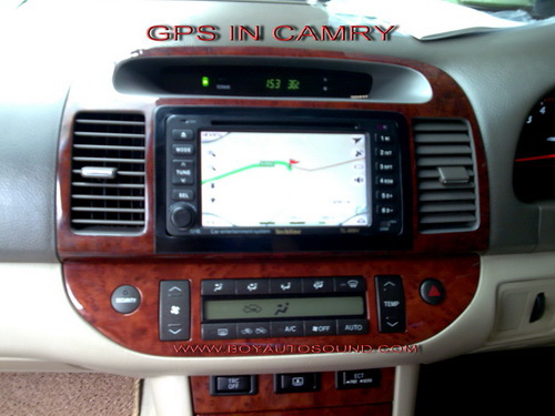 camryมาพร้อมระบบนำทางด้วยแผนที่พร้อมเสียงบอกภาษาไทยสนใจติดต่อคุณบอย081-6434998 1