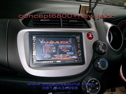new jazz+CONCEPT 6800ลงตัวกับเทคโนโลยีbluetooth/sd card/ usbครบครัน