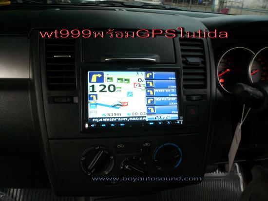 tidaติด GPSนำทางดูหนังฟังเพลงสุดทันสมัยสนใจติดต่อคุณบอย081-6434998