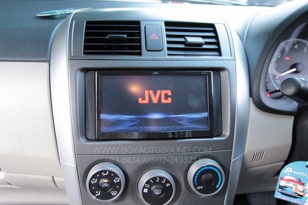 TOYOTA NEW ALTIS เ้ข้าระบบ JVC AV70 เรียบหรู ดูดี มีสไตล์ พร้อมฟังก์ชั่นกล้องถอยหลัง