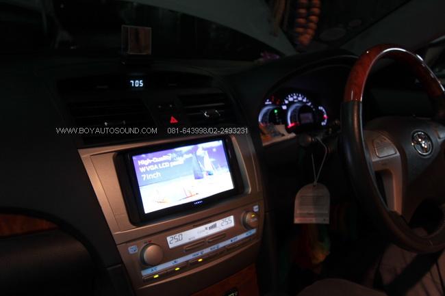 JVC KW AV70 BT หรูหรา ไฮโซ ในรถ TOYOTA NEW CAMRY สุดยอดดีไซน์เรียบหรู