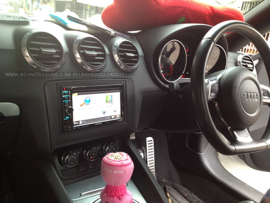 AUDI TT มาจัดเต็มสูบกับ KENWOOD DNX5310 มี GPS GARMIN built-in อยู่ในตัวเลย ใช้งานครบ คุณภาพระดับญุี
