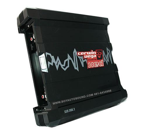CERWIN VEGA รุ่นใหม่ amplifier CERWIN XED 300.2 กำลังขับสูงสุดที่ 360 watts แอมป์ค่ายดัง hi-end
