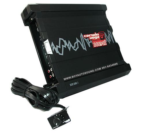 CERWIN VEGA รุ่นใหม่ amplifier CERWIN XED 500.1 แอมป์ขับซับ แรงเต็มลูก การันตีด้วยแบรนด์ดังระดับโลก