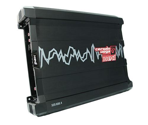 CERWIN VEGA รุ่นใหม่ล่า amplifier CERWIN XED 800.4 แอมป์ 4 ch กำลังขับเหลือเฟือ
