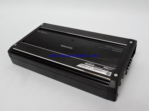 KENWOOD KAC-HQR9500แอมป์1200วัตต์สุดยอดคุณภาพ5ชาแนล สามารถขับได้ทั้งระบบจบในตัวเดียว