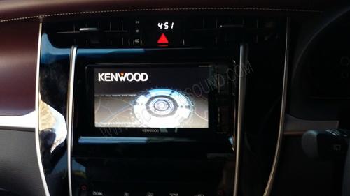 TOYOTA HARRIER 2014 ติดตั้งเครื่องเสียงรถยนต์ KENWOOD DNR935WBT หน้าบล็อคสำหรับ toyotaปลั๊กไม่ตัดต่อ