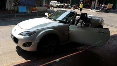 MAZDA MX5 คันนี้ ขอขอบคุณท่านเจ้าของรถที่ไว้วางใจให้ทางร้านเราได้ดูแลงานติดตั้งเครื่องเสียงให้