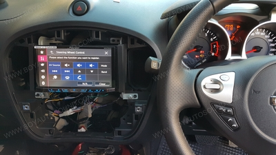 NISSAN JUKE ติดตั้งเครื่องเสียงรถยนต์ PIONEER AVH-X5750BT รุ่นรองท็อป ยอดนิยม ใช้งานคู่กับคอนโทรลพวง 2