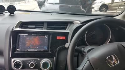 HONDA CITY 2014-2015 เปลี่ยนวิทยุเป็น PIONEER AVH-X5750BT
