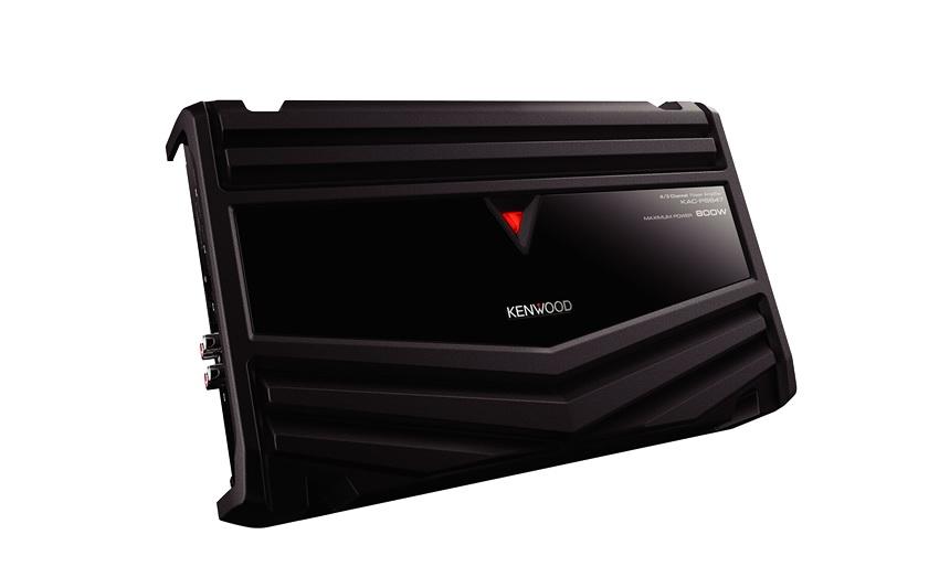 แอมป์ Kenwood KAC PS-847 ระบบ4ชาแนลตัวบางติดตั้งง่ายกำลังขับดีเยี่ยม ช่วยupgradeระบบให้เสียงสดใส