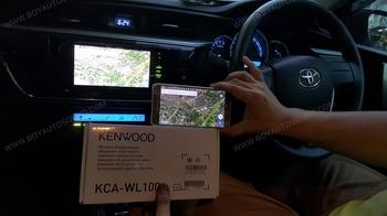 TOYOTA ALTIS2014-2016 ใช้งานวิทยุ KENWOOD DNR935WBT ตัวตรงรุ่น toyota แบบ plugplay ไม่ต้องดัดแปลงงา 1