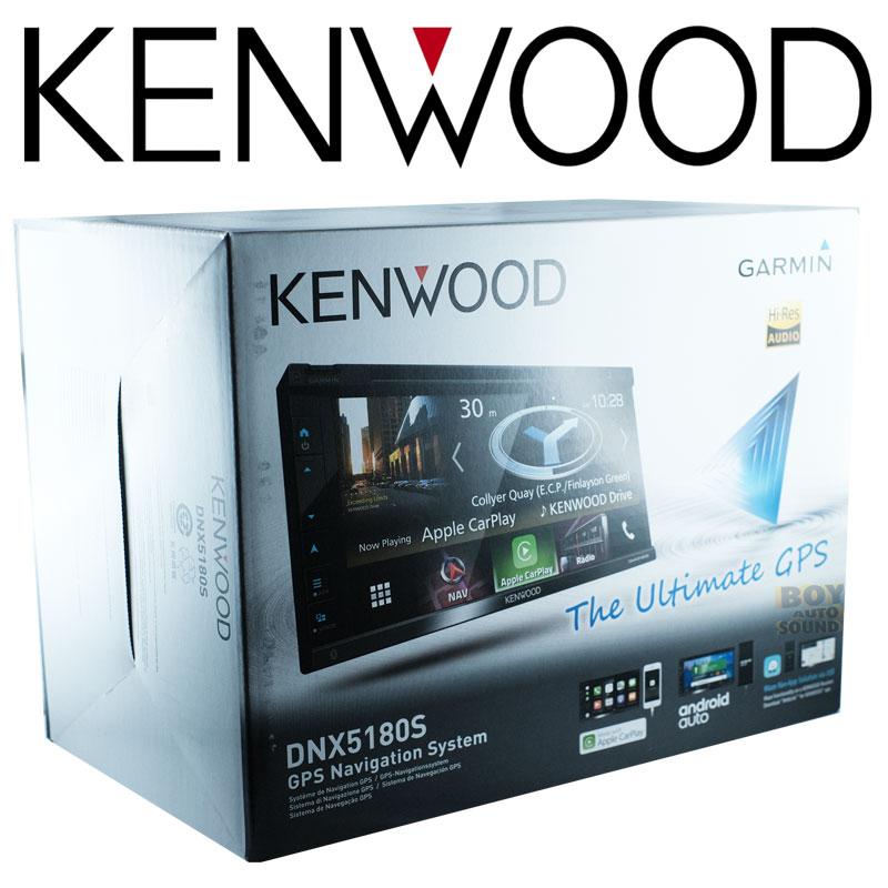 KENWOOD DNX5180S จอรุ่นDNX series รองรับใช้งานคู่กับการ์ด gps software GARMIN(option) จอขนาด 6.8นิ้ว 2
