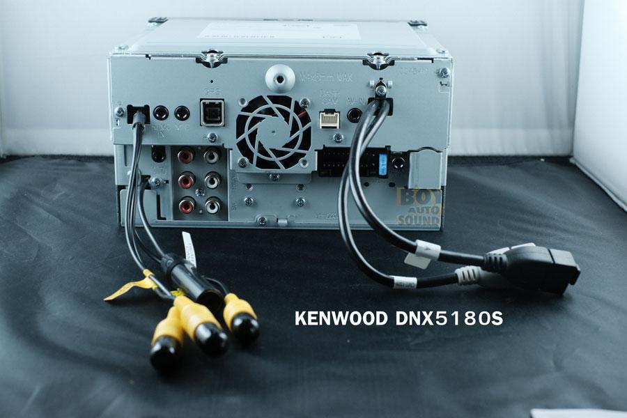 KENWOOD DNX5180S จอรุ่นDNX series รองรับใช้งานคู่กับการ์ด gps software GARMIN(option) จอขนาด 6.8นิ้ว 4