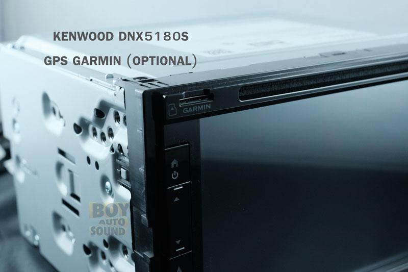 KENWOOD DNX5180S จอรุ่นDNX series รองรับใช้งานคู่กับการ์ด gps software GARMIN(option) จอขนาด 6.8นิ้ว 5