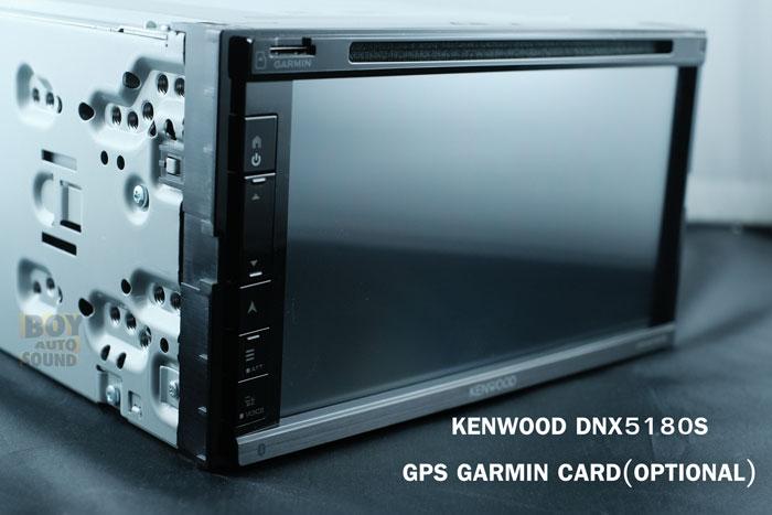KENWOOD DNX5180S จอรุ่นDNX series รองรับใช้งานคู่กับการ์ด gps software GARMIN(option) จอขนาด 6.8นิ้ว 6