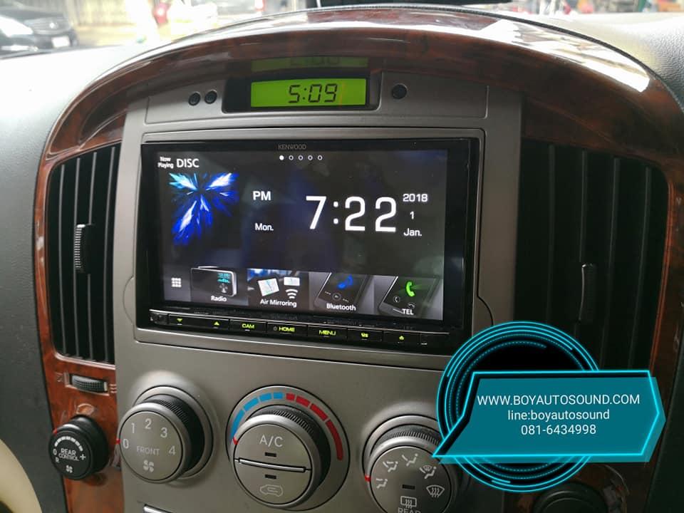 kenwood ddx9018s vs Hyundai H-1 คู่ชกสมศักดิ์ศรีกันสุดๆ 1