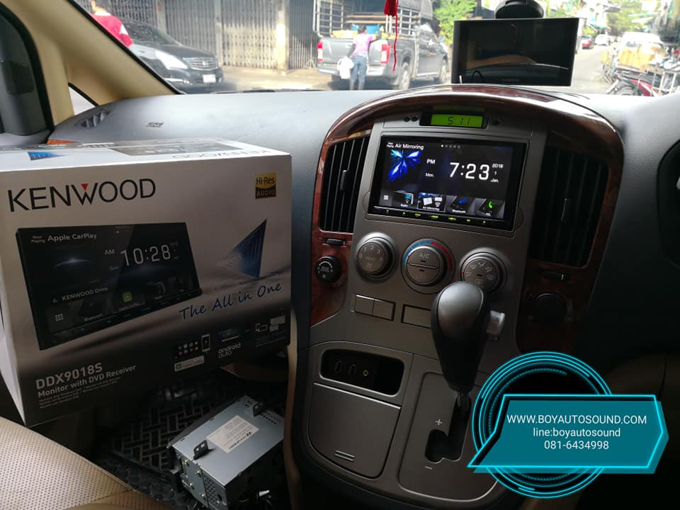 kenwood ddx9018s vs Hyundai H-1 คู่ชกสมศักดิ์ศรีกันสุดๆ 6