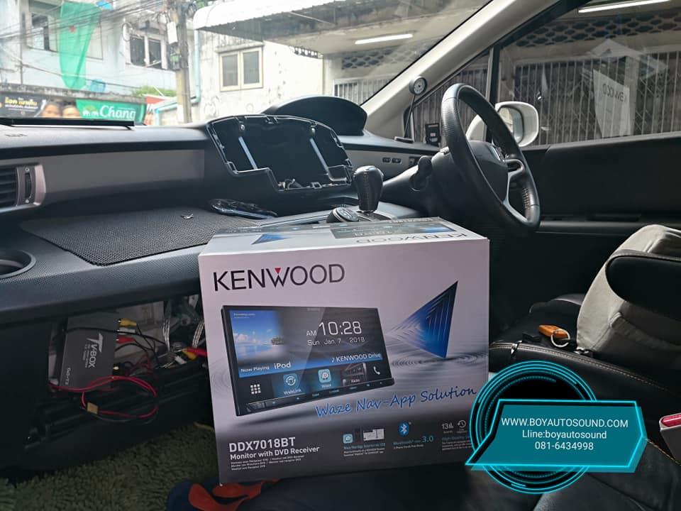 kenwood ddx7018bt vs honda freed หล่อล้ำ เล่นyoutube weblink waze และอื่นๆได้อีกเพียบ