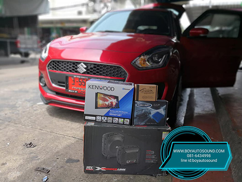 KENWOOD มารัวๆๆ รถใหม่ป้ายแดงก้อยังติดใจ KENWOOD DDX6016BT CONCEPT ARES MIRRORING